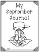 August and September Writing Journal