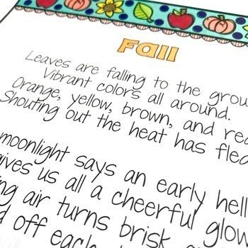 August/September Poetry Literacy Center