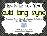 Auld Lang Syne [Common Core Aligned Literacy Activities for the New Year]
