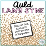 Auld Lang Syne (Scottish Folk Song) for New Year's - with Orff Arrangement