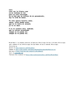 Aunque No Te Pueda Ver (Although I Can´t See You) by Alex Ubago. Spanish Song
