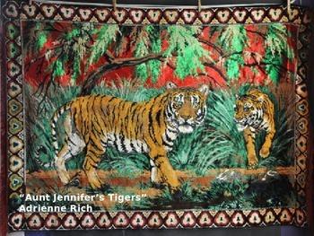 Aunt Jennifer's Tigers