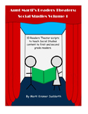 Aunt Marti's Readers Theaters: Social Studies Volume 1