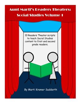 Aunt Marti's Readers Theaters: Social Studies Volume 1