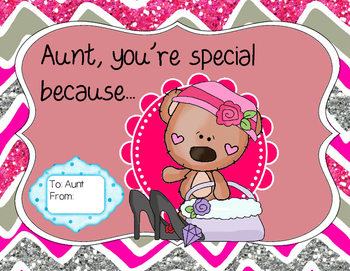 Aunt's Day Set