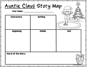 Auntie Claus Activity Sheets *Print and Go!*