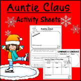 Auntie Claus Activity Sheets   Print and Go!