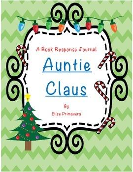 Auntie Claus - Book Response Journal