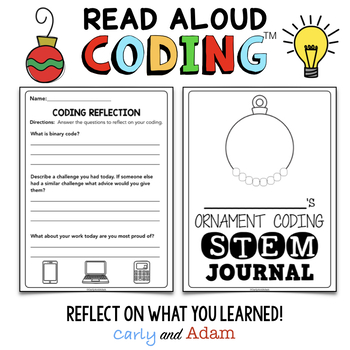 Auntie Claus Christmas READ ALOUD STEM™ Unplugged Coding Activity