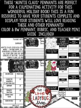 Auntie Claus - Christmas Reading Activity  • Teach- Go Pennants™