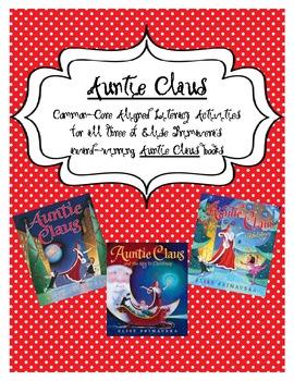 Auntie Claus Common Core Christmas Unit