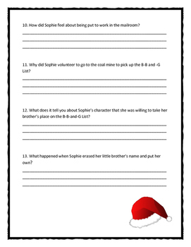 AUNTIE CLAUS by Elise Primavera  - Comprehension & Text Evidence