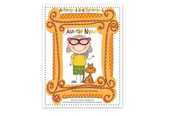 Auntie Nym - Activities with Antonyms and Synonyms - Commo