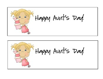 Aunt's Day set for Mother's Day