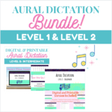 Aural Dictation for Middle School Choir- Level 1 and Level 2