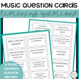 Music Appreciation Task Cards