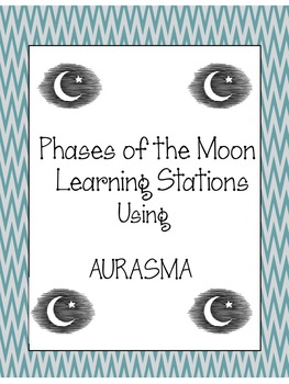 Aurasma Learning Stations - Phases of the Moon