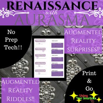 Renaissance Scavenger Hunt  with Aurasma