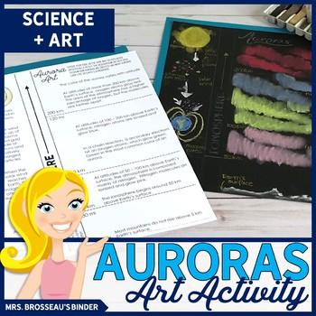 Aurora Art Activity | FREE Art + Science Activity for Astronomy