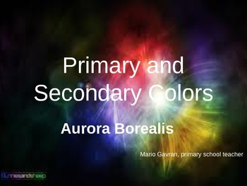 Primary and Secondary Colors, Aurora borealis