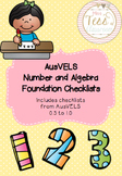AusVELS Foundation Mathematics Number and Algebra Checklists