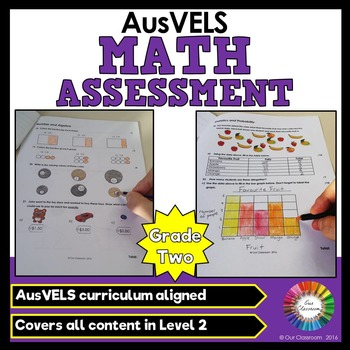 Maths Assessment - AusVELS Grade 2 (Aligned to all content areas)