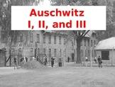 Auschwitz Camps PowerPoint