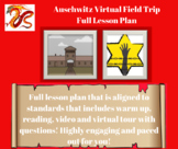 Auschwitz/Holocaust Lesson with Activities and SPED Activities