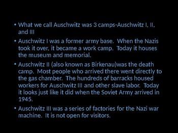 Auschwitz Powerpoint