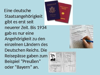 Auslaendische Mitbuerger / Foreigners in Germany / Multicultural Germany