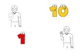Auslan Numbers Book 1-10