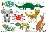 Aussie Animals Pre Writing