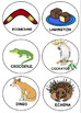 Aussie Beats! Multisyllabic Word Game: Speech Therapy