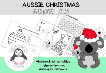Aussie Christmas Activity Pack