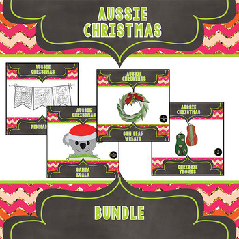 Aussie Christmas Craftivity Bundle