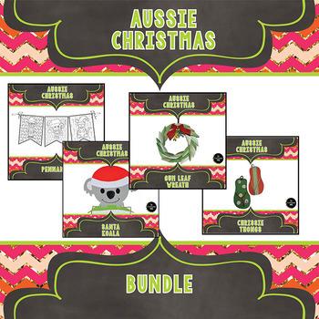 Aussie Christmas Craftivity Bundle