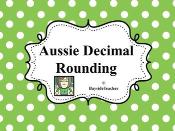 Aussie Decimal Rounding #1 - Rotation Cards
