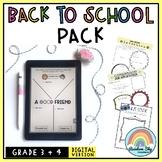 Aussie Back to School Activities - { Digital } Grade 3 & 4