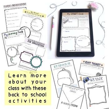 Aussie Back to School Activities { Digital } - Grade 5 & 6
