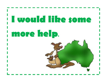 Aussie Themed Assessment Cards