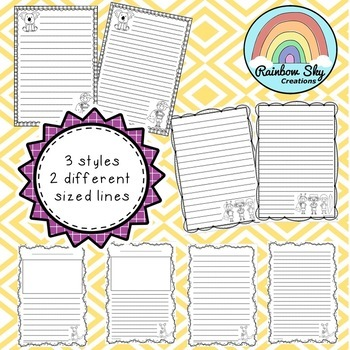 Australian themed Writing templates - Free Download
