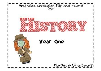 Aust. Curriculum Flip Book History Year 1