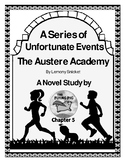 Austere Academy Novel Study Chapter Five