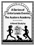 Austere Academy Novel Study Chapter Four