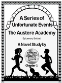Austere Academy Novel Study Chapter One