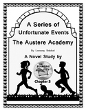 Austere Academy Novel Study Chapter Three