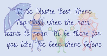 Austie Bost Fonts - There For You!