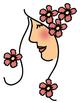 Austie Bost You Wear Flowers Clipart