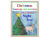 Autism, Special Ed, Christmas Language and Math with Eve Bunting's NIGHT TREE.