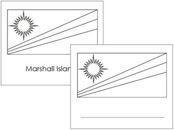 Australasia-Oceania Flags: Outlines
